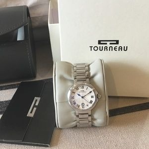 Tourneau Silver Watch